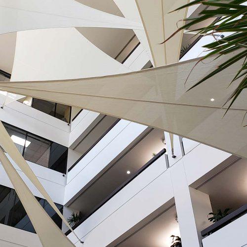 photo of indoor sails