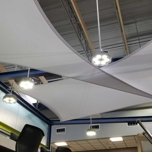 photo of indoor sails by Tensoshade™